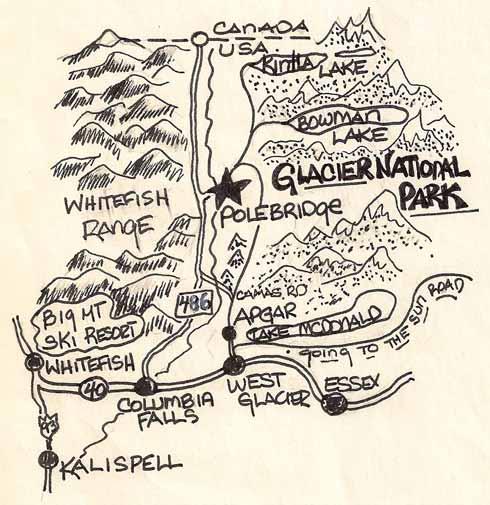 Polebridge-Map