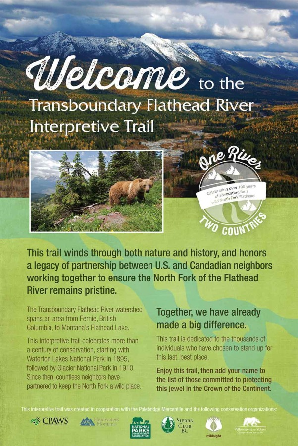 flathead river interpretive trail image 1